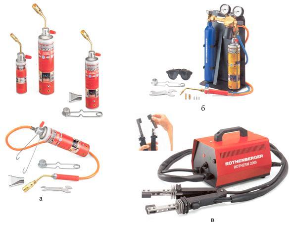 Оборудование и инструменты для пайки медных труб