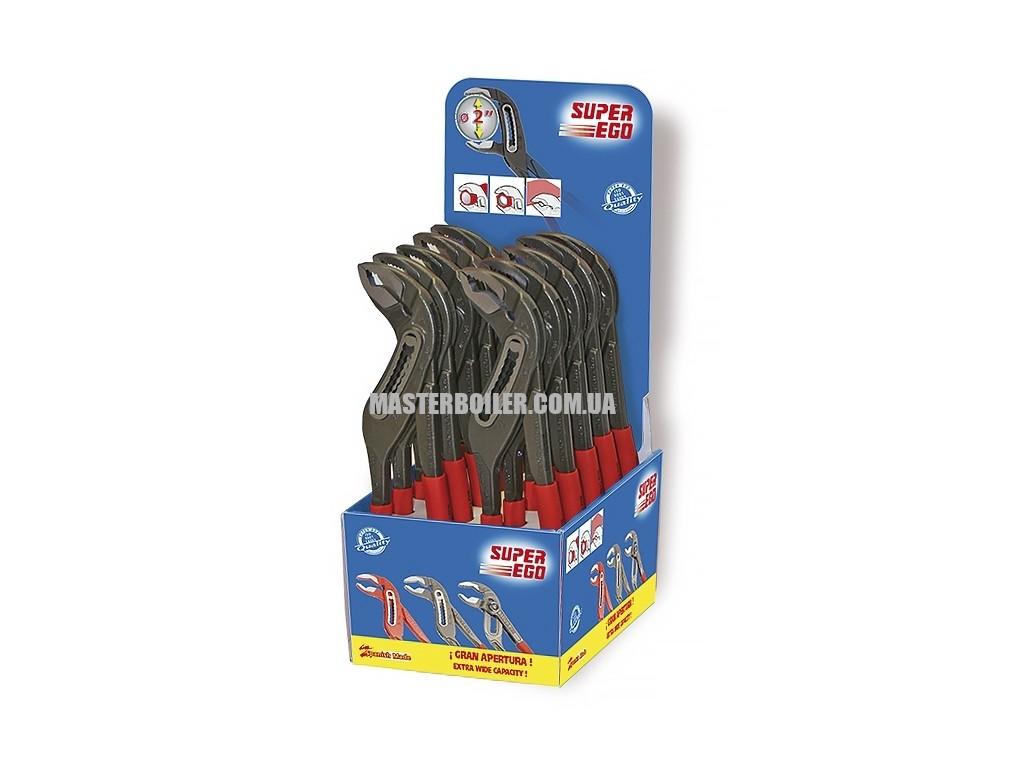 Переставные сантехнические клещи SUPER-EGO 528, 2
