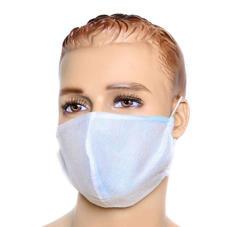 Набор: маска защитная + 1 л антисептик санитайзер для рук и поверхностей MASTERSEPT 0