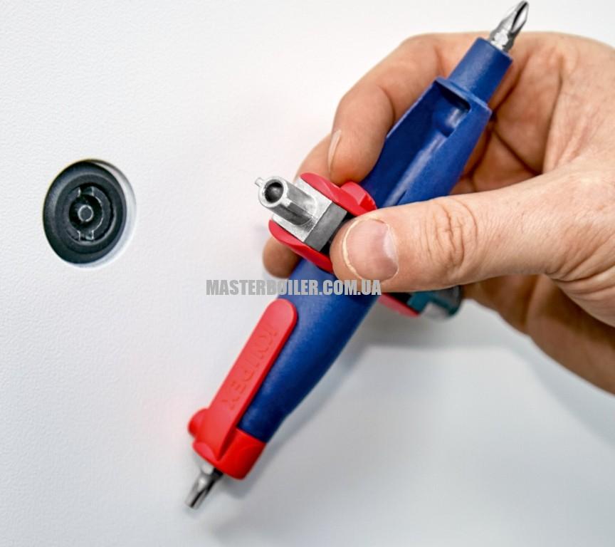 Штифтовый ключ для электрошкафов для распространенных шкафов и систем запирания KNIPEX 00 11 07 0