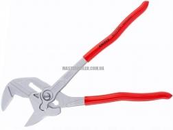 Клещи переставные-гаечный ключ, переставные клещи и гаечный ключ в одном инструменте KNIPEX 86 03 300 2