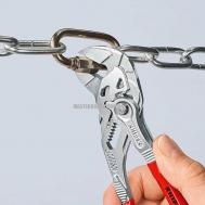 Клещи переставные-гаечный ключ, переставные клещи и гаечный ключ в одном инструменте KNIPEX 86 03 180 0