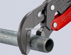 Клещи трубные с S-образным смыканием губок с быстрой регулировкой KNIPEX 83 61 015 0