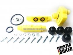 Набор промывочных адаптеров Master Boiler Adapters 2 в 1 (HE + CP) 2