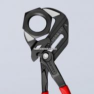 Клещи переставные-гаечный ключ, переставные клещи и гаечный ключ в одном инструменте KNIPEX 86 02 250 0