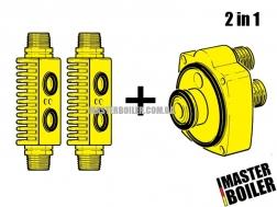 Набор промывочных адаптеров Master Boiler Adapters 2 в 1 (HE + CP) 3