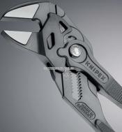 Клещи переставные-гаечный ключ, переставные клещи и гаечный ключ в одном инструменте KNIPEX 86 01 250 0