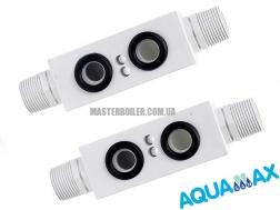 Aquamax Supa Heat Exchanger Adaptor - адаптер для промывки вторичного теплообменника  1
