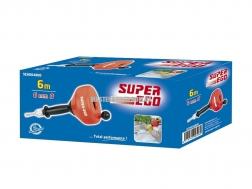 Устройство для прочистки труб вручную или с помощью дрели SUPER-EGO 8мм - 7.6м 2