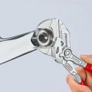 Клещи переставные-гаечный ключ, переставные клещи и гаечный ключ в одном инструменте KNIPEX 86 05 180 0