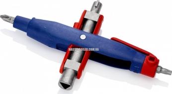 Штифтовый ключ для электрошкафов для распространенных шкафов и систем запирания KNIPEX 00 11 07 3