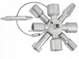KNIPEX TwinKey® для распространенных шкафов и систем запирания KNIPEX 00 11 01 0