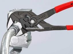 Клещи переставные-гаечный ключ, переставные клещи и гаечный ключ в одном инструменте KNIPEX 86 01 250 2