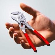 Переставные мини-клещи, переставные клещи и гаечный ключ в одном инструменте KNIPEX 86 03 150 2