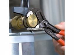 Высокотехнологичные сантехнические клещи со страховочным креплением KNIPEX Cobra® 87 02 180 T 3