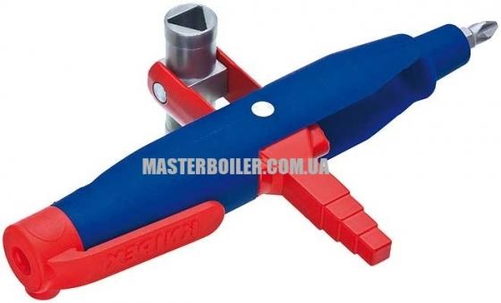 Штифтовый ключ для электрошкафов для распространенных шкафов и систем запирания KNIPEX 00 11 07