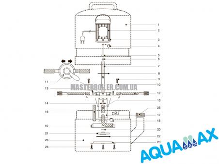 Статор Aquamax Promax 20