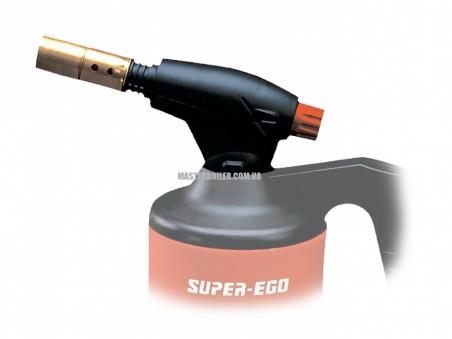 Газовая горелка с пьезоподжигом SUPER-EGO SEGOFLAME PIEZO, прокалываемое соединение (без балончика)