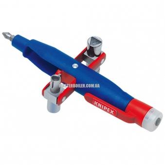 Штифтовый ключ для электрошкафов с индикатором наличия проводки под напряжением KNIPEX 00 11 17