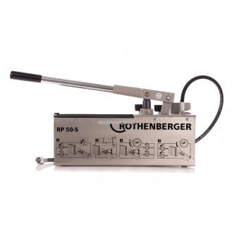 Опрессовочный ручной насос из нержавеющей стали Rothenberger RP 50-S INOX