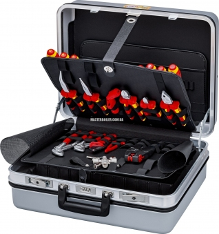 Чемодан с инструментом, набор электрика 23 предмета KNIPEX 00 21 30