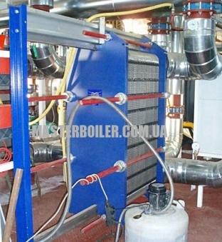 Промывка промышленного теплообменника
