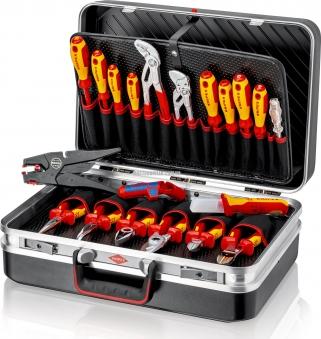 Чемодан с инструментом, набор электрика 20 предметов KNIPEX 00 21 20