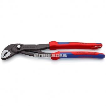 Высокотехнологичные сантехнические клещи со страховочным креплением KNIPEX Cobra® 87 02 300 T