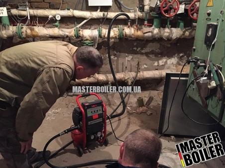 Гидропневматическая промывка трубопроводов