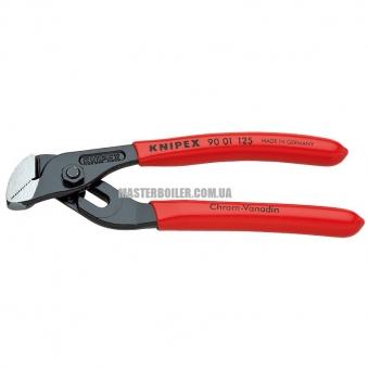 Сантехнические мини-клещи с гребенчатым шарниром KNIPEX 90 01 125