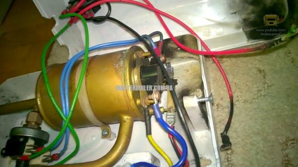 Промывка проточного водонагревателя