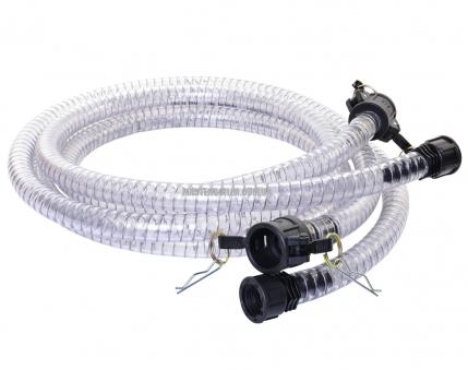 Набор промывочных шлангов для бустеров 2х2 м, Ø19 мм с быстросъемными соединениями MASTERLOCK 3/4