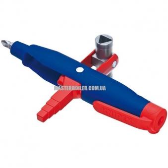 Штифтовый ключ для электрошкафов профессиональный для распространенных систем запирания KNIPEX 00 11 08