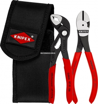 Набор мини-клещей в поясной сумке для инструментов KNIPEX 00 20 72 V02
