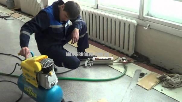 Промывка биметаллических батарей (радиаторов отопления)