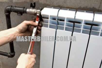 Установка / замена кранов на батареи отопления