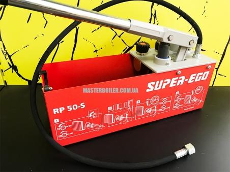 SUPER-EGO RP50-S - ручной испытательный опрессовочный насос