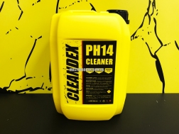 CLEANDEX pH14, 5 л - щелочное средство для промывки теплообменников и водонагревательного оборудования