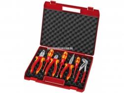 Чемодан с инструментом для электромонтажа 7 предметов KNIPEX 00 21 15