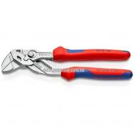 Клещи переставные-гаечный ключ, переставные клещи и гаечный ключ в одном инструменте KNIPEX 86 05 180